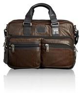 Tumi Men's 'Bravo' Leather Commuter Briefcase - Brown