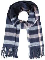 Miss Selfridge Scarf navy blue