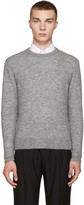 Ami Alexandre Mattiussi Grey Crewneck Sweater