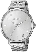 Nixon Women's 'Arrow' Quartz Metal and Stainless Steel Automatic Watch, Color:Silver-Toned (Model: A10901920-00)