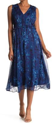 Taylor Printed Chiffon Dress