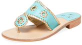 Jack Rogers Nantucket Leather Thong Sandal