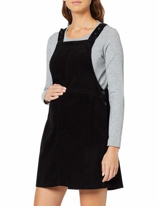 New Look Maternity Women's 8W Cord Dungaree Pinny Dress