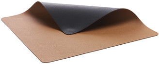 Bit'z Bitz - Two Tone Leather Placemat - Black/Brown