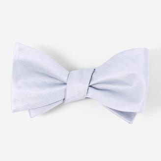 MUMU Weddings - Desert Solid Steel Blue Bow Tie