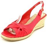 Bella Vita Sangria Too Open Toe Synthetic Wedge Heel.