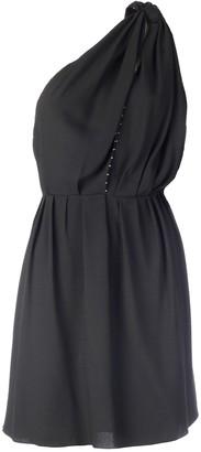 Saint Laurent Embellished One-Shoulder Dress