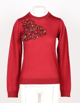 N°21 Red Pure Wool Women's Sweater
