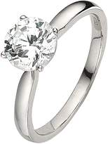 Love DIAMOND 18 Carat White Gold 1 Carat Certified Diamond Solitaire Ring