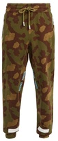 Off-White Camouflage-print cotton track pants