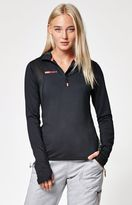 Roxy Keep It Warm Half Zip Long Sleeve Top