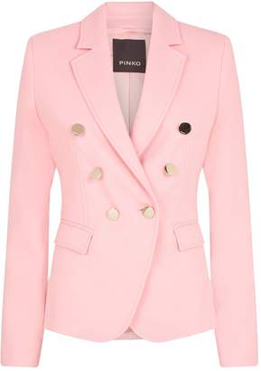 Pinko Tailored Double-Breasted Blazer