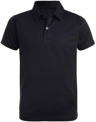 Nautica Sensory Short Sleeve Interlock Polo Uniform Shirt (Big Boys)