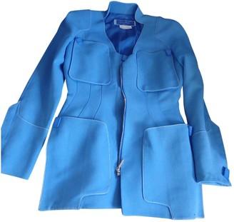Thierry Mugler Blue Cotton Jackets