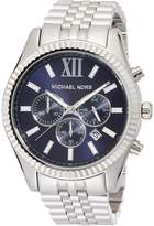 Michael Kors Men's Chronograph Lexington Stainless Steel Bracelet Watch 45mm MK8280
