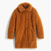 J.Crew The textured Teddy coat