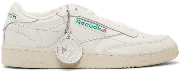 Off-White Reebok Classics Club C 1985 Sneakers