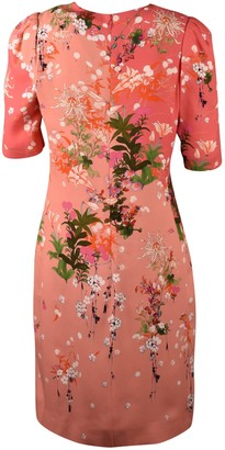 Givenchy Crepe Dress With Floral Print