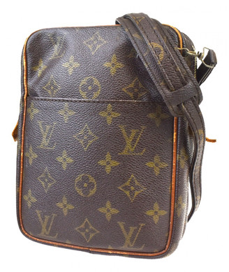 Louis Vuitton Brown Leather Handbags