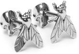 Alexander McQueen Fly Silver-Tone Cufflinks