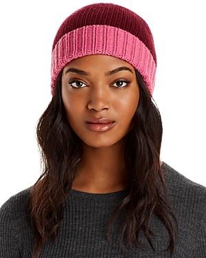 Aqua Colorblock Knit Hat - 100% Exclusive