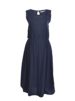 Beaumont Organic Evelyn Dress in Navy Organic Cotton
