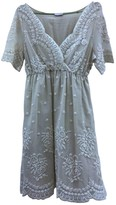 P.A.R.O.S.H. Blue Lace Dress for Women