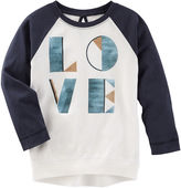 Osh Kosh Oshkosh TLC Love Raglan Tunic - Toddler Girls 2t-5t