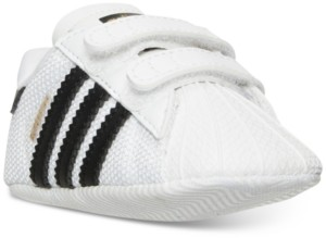 adidas Toddler Boys Superstar Crib Casual Sneakers from Finish Line