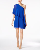 Vince Camuto Ruffled One-Shoulder Shift Dress