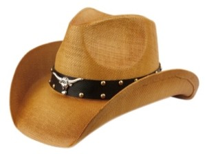 Epoch Hats Company Angela & William Cowboy Hat with Trim Band and Studs