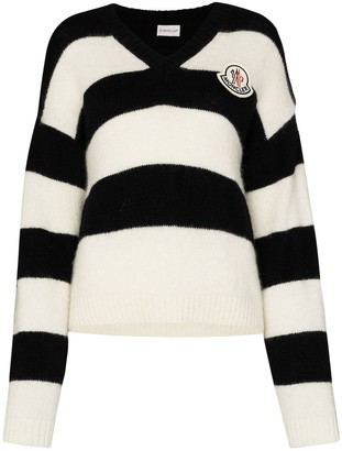 Moncler Striped Knitted Jumper