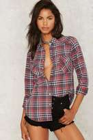 Factory Snap Out of It Plaid Shirt