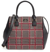 Kate Spade Prospect Place Maddie Houndstooth Satchel - Brown