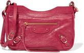 Balenciaga Classic Hip Textured-leather Shoulder Bag