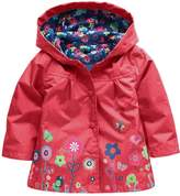 Wennikids Baby Girl Kid Waterproof Floral Hooded Coat Jacket Outwear Raincoat Hoodies Medium