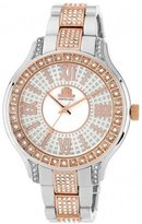 JLO by Jennifer Lopez JL-2877WMRT women's quartz wristwatch