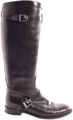 Unützer Black Leather Boots