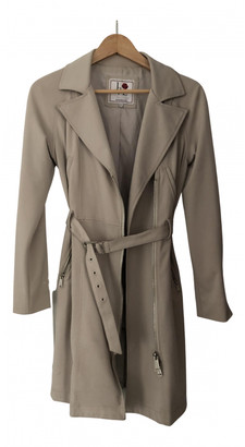 Silvian Heach Beige Cotton Trench coats