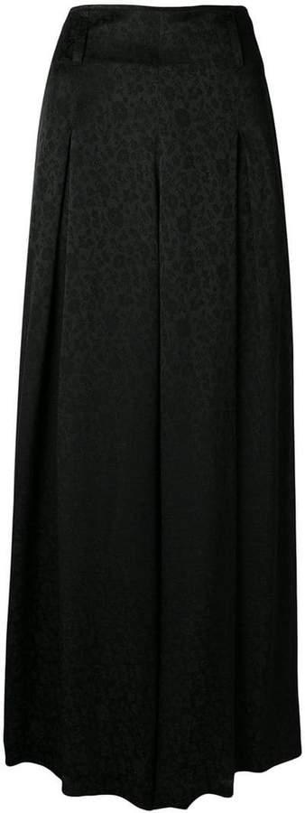 Etro floral pattern wide-leg trousers