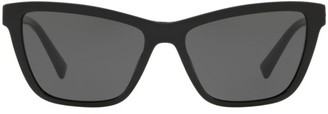 Versace 0VE4354B 55MM Wayfarer Sunglasses