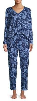 Dragon Optical N Natori Fleur Pajama Set