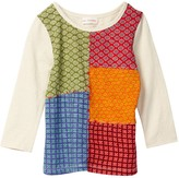 Mimi & Maggie Patchwork Tee (Toddler Girls)