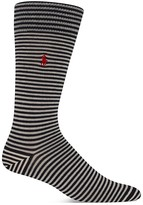 Polo Ralph Lauren Striped Boot Socks