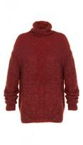 Tibi Gleam Turtleneck Sweater