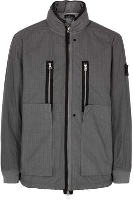Stone Island Shadow Project Grey Ripstop Shell Jacket