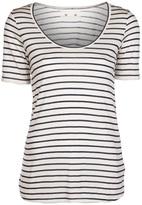 194T Skinny stripe relaxed t-shirt