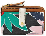 Fossil Keely Floral Tab Card Case