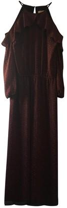 Michael Kors Burgundy Polyester Jumpsuits