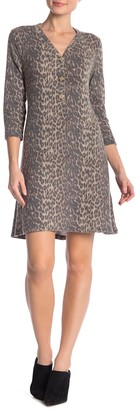 Como Vintage Super Soft Leopard Print Dress
